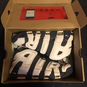 Nike more uptempo ( Olympic)